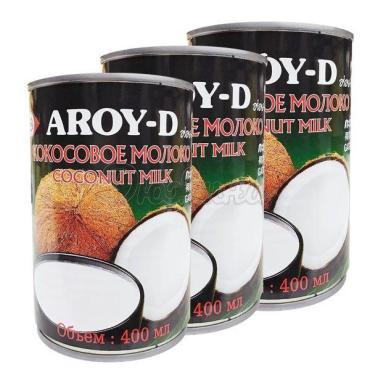 Молоко Aroy-D Кокосовое 17-19% 400 г