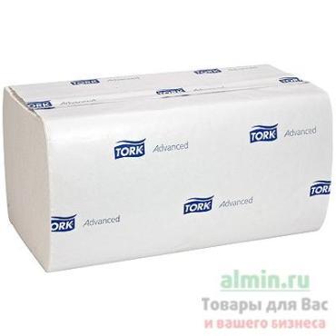 Полотенца бумажные 2-слойные белые ZZ-сложения 20 пачек по 200 листов Tork A vance Н3, 9,708 кг., полиэтиленовая пленка
