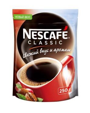 Кофе Нескафе классик, 250 гр., дой-пак