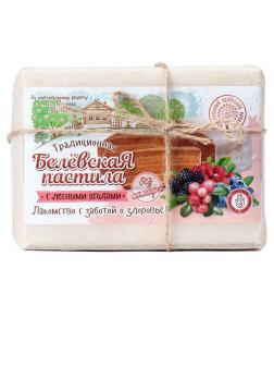 Пастила без сахара слесной ягодой Белёвский продукт, 200 гр., пергамент