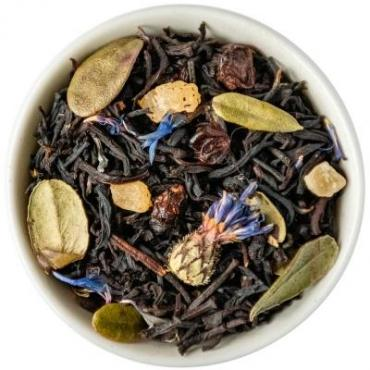 Чай черный с добавками Chef Tea Черничный пирог, 1 кг.