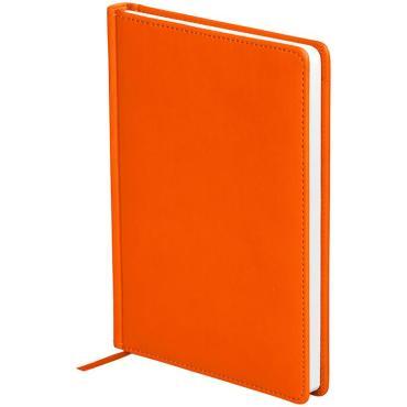 Ежедневник датированный 2021г., A5, 176л., кожзам, OfficeSpace Winner, оранжевый