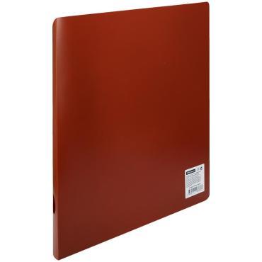 Папка на 2 кольцах OfficeSpace, 40мм, 500мкм, красная