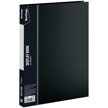 Папка с 20 вкладышами Berlingo Standard, 14мм, 600мкм, черная