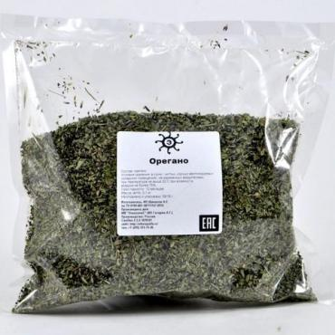 Орегано сушеный резаный, 500 гр., пластиковый пакет