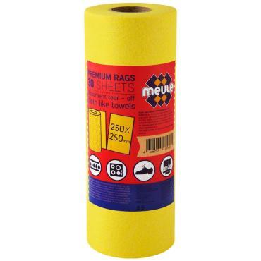 Салфетки Meule Premium вискозные для уборки в рулоне 30 листов
