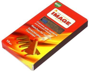 Спички длительного горения 10 шт. , картонная коробка
