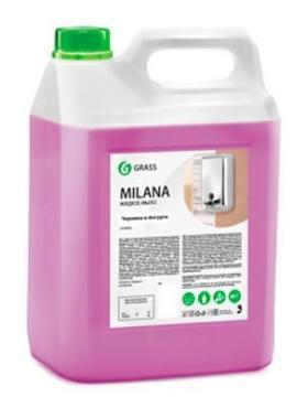 Крем-мыло жидкое черника в йогурте, 5 л., Milana, ПЭТ