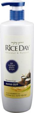 Шампунь для нормальных волос увлажняющий, СJ Lion Rice Day, 550 мл., пластиковая бутылка