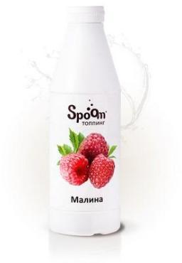 Топпинг малина Spoom, 1 л., пластиковая бутылка