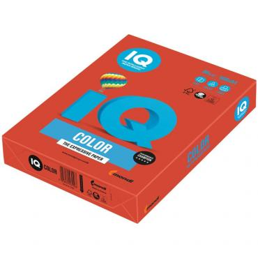 Бумага для печати IQ Color кораллово-красная А4 80 г/м² 500 листов