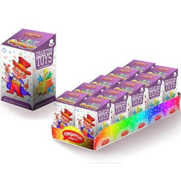 Конфета и игрушка Секретик радости Фокусы, 10 гр., картонная коробка