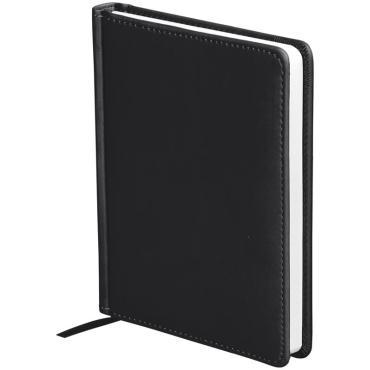 Ежедневник недатир. A6, 136л., кожзам, OfficeSpace Winner, черный