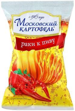 Чипсы вкус раки к пиву Московский картофель 70 гр., флоу-пак
