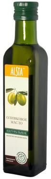 Масло оливковое натуральное, Alsta, 500 мл., стекло