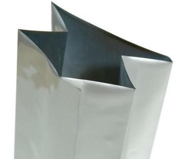 Пакет 85*250 мм., с центральным швом фольгированный серый, 50 шт.