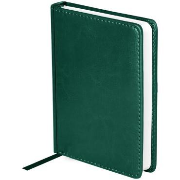 Ежедневник датированный 2021г., A6, 176л., кожзам, OfficeSpace Nebraska, зеленый