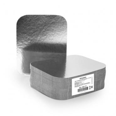 Крышка к алюминиевой форме, картон/алюминий 196x113мм 900 шт