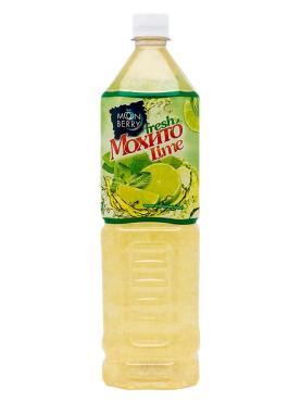 Напиток с кусочками лайма, Moonberry Мохито, 1,5 л., пластиковая бутылка