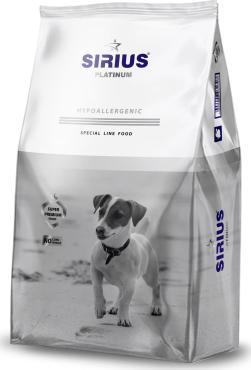 Корм сухой для взрослых собак мелких пород Индейка с овощами, Sirius, 1,2 кг., пластиковый пакет
