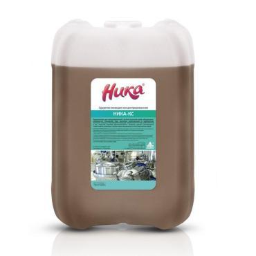 Средство моющее концентрированное, Ника КС, 7 кг., канистра