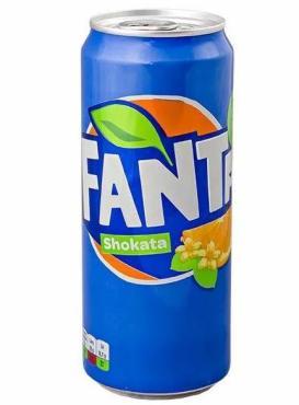 Напиток газированный,Шоката, Fanta, 330 мл., жестяная банка