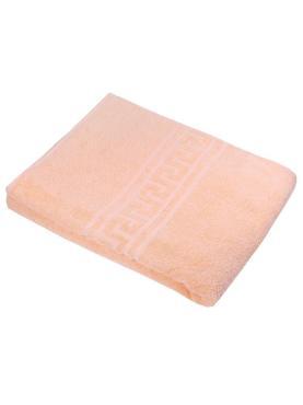 Простыня махровая 140*200 100% хлопок, плотность 160 гр. золотой песок, пластиковый пакет