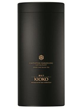 Чай чёрный листовой, Kioko Castleton Darjeeling S.F.T.G.F.O.P., 100 гр., картонная шкатулка