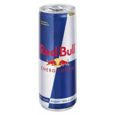 Энергитический напиток Red Bull, 250 мл., ж/б