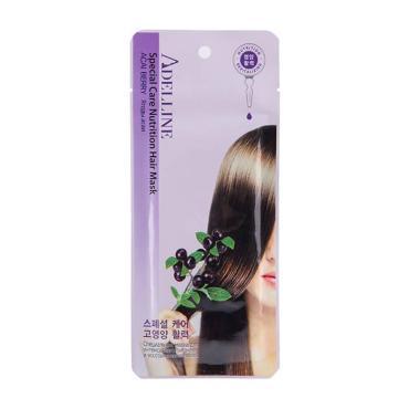 Маска тканевая для интенсивного питания и восстановления волос Adelline Acai Berry, 30 гр., сашет