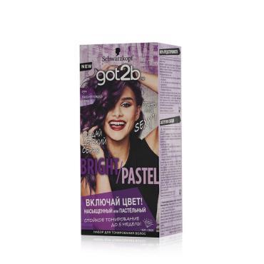 Шампунь оттеночный Got2b Color Shampoo Фиолетовый панк, 150 мл., картонная коробка