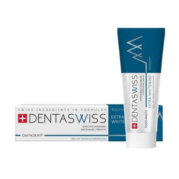 Паста зубная DentaSwiss Extra Whitening , 93 гр., картонная коробка