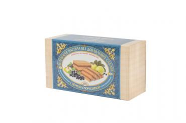 Пастила заварная с чёрной смородиной, Белевская пастильная мануфактура, 180 гр., картонная коробка