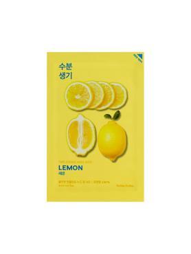 Маска тонизирующая тканевая, Holika Holika Pure Essence лимон, 20 мл., сашеет