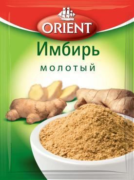 Приправа имбирь молотый, Orient, 12 гр.,