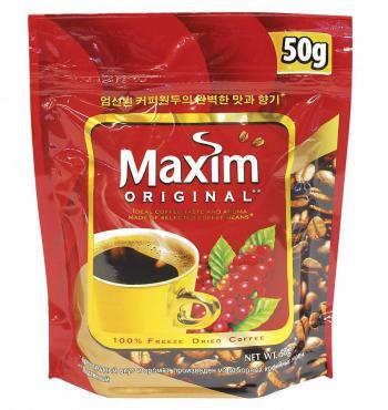 Кофе эксклюзив, Maxim, 50 гр., флоу-пак