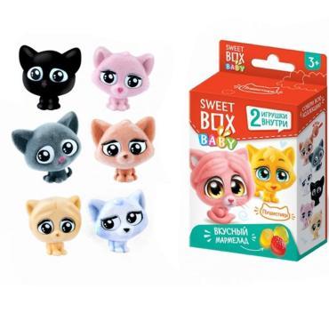 Мармелад с игрушкой, Пушистые котята, Свитбокс, Конфитрейд, 10 гр., картонная коробка