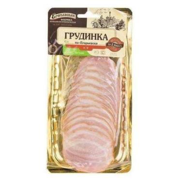 Грудинка по-Егорьевски к/в, нарезка, Егорьевский МК, 115 гр., в/у
