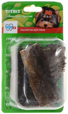 Лакомство для собак говяжий желудок, TitBit, 40 гр., блистер