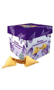 Печенье Печенье с предсказаниями-комплиментами 36 гр., картонная коробка