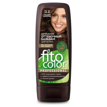 Бальзам для волос оттеночный горький шоколад, Fito Косметик Fito Color Professional, 140 мл., пластиковая бутылка
