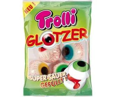 Мармелад-глаза Glotzer, Trolli, 19 гр., флоу-пак
