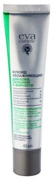 Флюид для кожи, склонной к жирности увлажняющий, Eva Esthetic 40 мл., пластиковая туба
