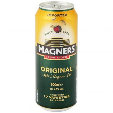 Сидр яблочный Original алк 4.5%, Magners, 500 мл., жестяная банка