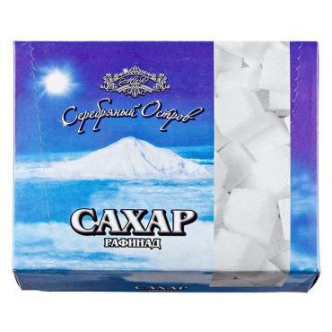Сахар-рафинад, Серебряный Остров, 450 гр., картонная коробка