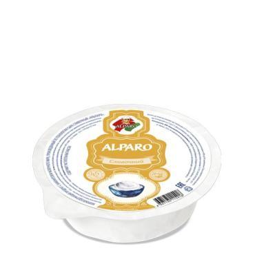 МСП с ЗМЖ по технологии сыра Сливочный 45% Альпаро, 500 гр., вакуумная упаковка