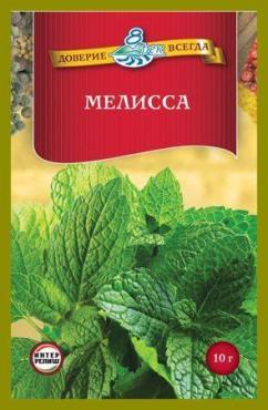 Мелисса 8 Рек, 10 гр., пластиковый пакет