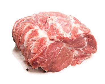 Шейка свиная б/к, 10 кг., гофроящик