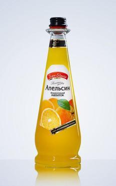 Напиток газированный, апельсин, San-Slavia, 1 л., стекло