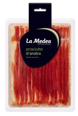 Хамон La Medea выдержаный из утиной грудки, 600 гр, в/у